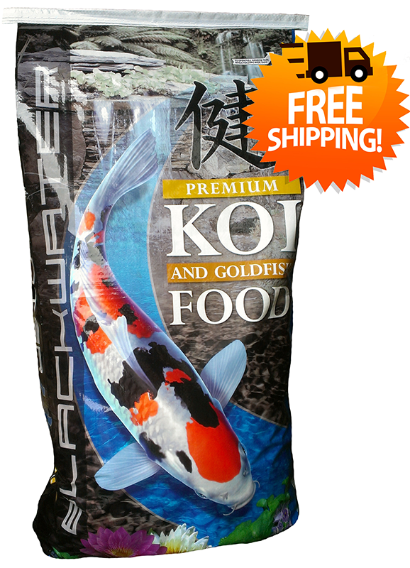 Blackwater Color Enhancing Koi Food 40lb FREE SHIPPING