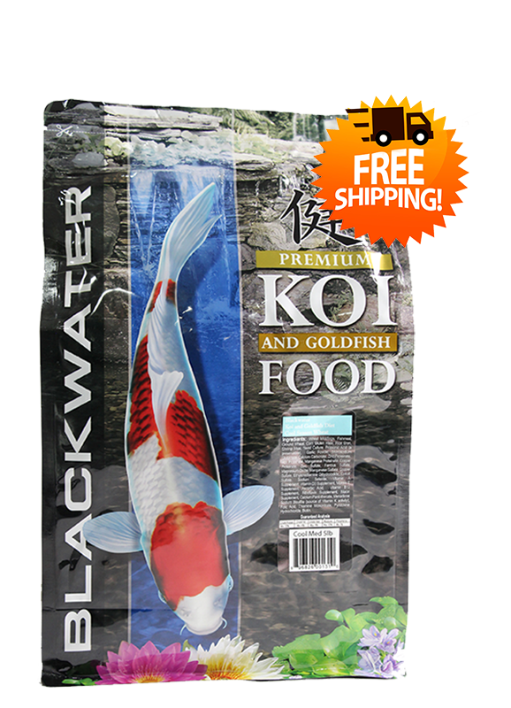 Blackwater Cool Season Koi Food 5lbs FREE SHIPPING